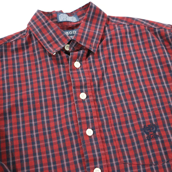 Izod Other - Izod Burgandy/Red Long sleeve Button up 8 in Boys